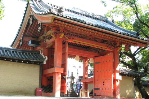 西宮神社 赤門(通称)